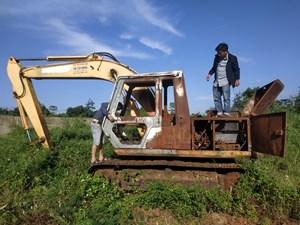 Vẫn chưa tìm ra thủ phạm đốt xe múc ở Đắk Lắk sau hơn 1 năm