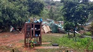Mưa lớn gây thiệt hại nặng nề ở Đắk Lắk