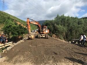 Tuyến đường huyết mạch nối 2 tỉnh Đắk Lắk-Khánh Hòa đã khai thông trở lại