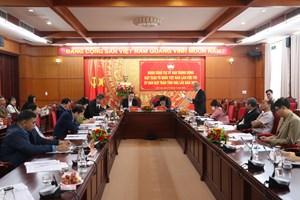 Đoàn công tác Mặt trận Trung ương làm việc tại Đắk Lắk