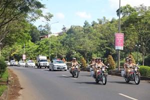 Công an Đắk Nông ra quân trấn áp tội phạm, đảm bảo an ninh - trật tự