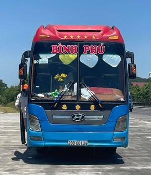 Một tài xế xe khách di chuyển từ Hà Nam về Bình Định nhiễm Covid-19