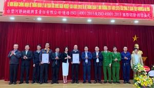 Formosa Hà Tĩnh được chứng nhận đạt tiêu chuẩn quốc tế về môi trường
