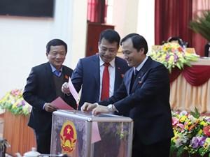 HĐND tỉnh Hà Tĩnh thay đổi nhiều chức danh chủ chốt