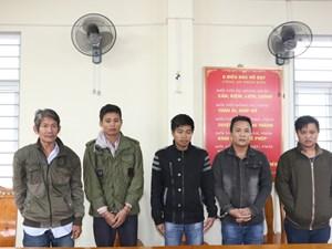 Đưa người sang Thái Lan trái phép, 5 đối tượng bị khởi tố