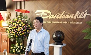 BẢN TIN MẶT TRẬN: Phó Chủ tịch - Tổng Thư ký Hầu A Lềnh dự Lễ ra mắt giao diện mới Báo điện tử Đại Đoàn Kết