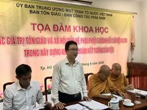 Khẳng định vai trò của Phật giáo Khất sĩ Việt Nam trong khối đại đoàn kết toàn dân tộc