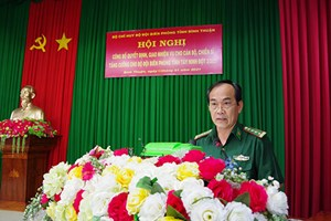 Bình Thuận: Tăng cường, chiến sĩ làm nhiệm vụ phòng, chống dịch Covid-19