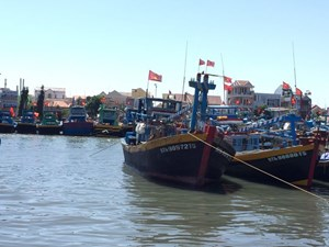 Bình Thuận: tìm kiếm các nạn nhân mất tích trên biển
