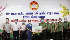 Bình Định: Công an tỉnh ủng hộ công tác phòng, chống dịch Covid-19