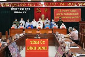 Bình Định: Phát động phòng trào quyết tâm chiến thắng đại dịch