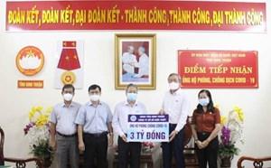 Ninh Thuận: Tiếp nhận 45 tỷ đồng ủng hộ phòng, chống dịch Covid-19