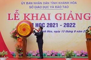 Khánh Hòa: Khai giảng năm học mới 2021-2022