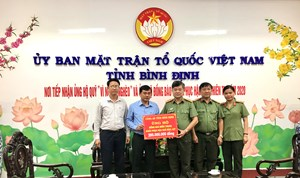 Bình Định:Tiếp nhận 200 triệu ủng hộ đồng bào miền Trung khắc phục bão, lụt