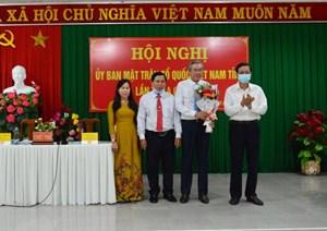Ninh Thuận: Ông Lê Văn Bình giữ chức Chủ tịch Ủy ban MTTQ VN tỉnh