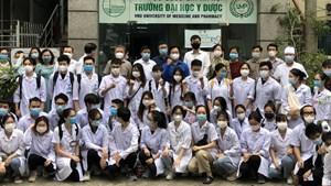 Hàng nghìn sinh viên Thủ đô xuất quân hỗ trợ chống dịch Covid-19