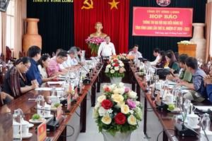 Vĩnh Long họp báo về Đại hội đại biểu Đảng bộ tỉnh lần thứ XI