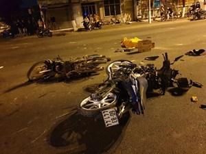 Tai nạn xe máy, 5 người thương vong