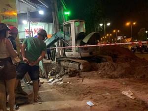 Bình Dương: Sạt lở đất, một người tử vong khi thi công ống thoát nước
