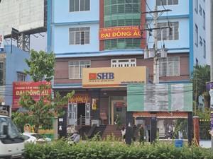 Bình Dương: Công an điều tra vụ cướp ngân hàng