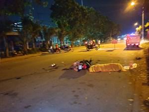 Xe máy đối đầu, hai người chết thương tâm trong đêm