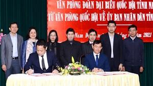 Nam Định: Nhận lại Văn phòng Đoàn đại biểu Quốc hội tỉnh