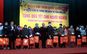 Thường trực Ban Bí thư Trần Quốc Vượng thăm, chúc Tết tại Thái Bình
