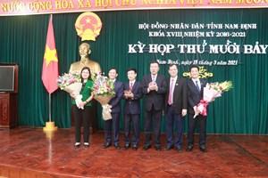 Nam Định: Kiện toàn một số chức danh lãnh đạo sau nhiều tháng khuyết thiếu