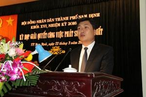 Thành Nam có tân Chủ tịch UBND 39 tuổi