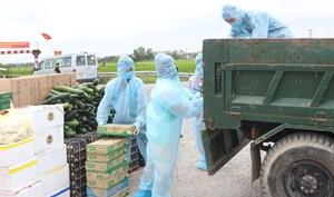 Hà Nam: Tiếp tế lương thực, thực phẩm cho hơn 3.200 hộ dân vùng phong tỏa