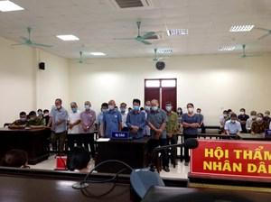 Nam Định: Phạt tù 12 Bí thư chi bộ, trưởng xóm bán, đổi đất trái thẩm quyền