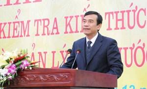 Thái Bình: Chủ tịch UBND tỉnh Đặng Trọng Thăng nghỉ hưu