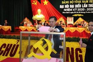 14 cán bộ của Nam Định lần đầu được bầu vào BCH Đảng bộ tỉnh