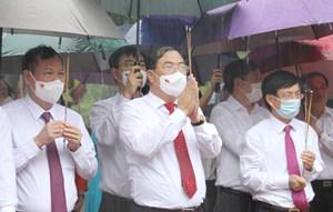 Nam Định: Dâng hương tưởng niệm ngày mất Hưng Đạo Vương và cố Tổng Bí thư Trường Chinh