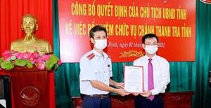 Nam Định có tân Chánh thanh tra tỉnh