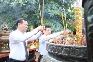 Nam Định: Tưởng nhớ Anh hùng dân tộc Trần Hưng Đạo