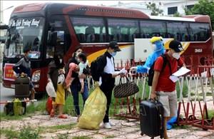 Thái Bình: Tạm dừng 8 chốt kiểm soát dịch, đón dân về từ miền Nam
