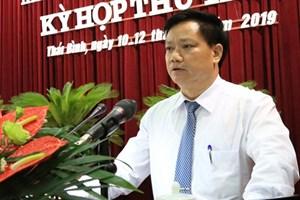 Thái Bình sắp có Chủ tịch UBND tỉnh thay ông Đặng Trọng Thăng nghỉ hưu
