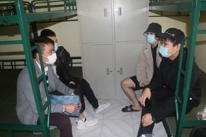Nam Định: Tiếp nhận, cách ly 120 người trở về từ nước Anh