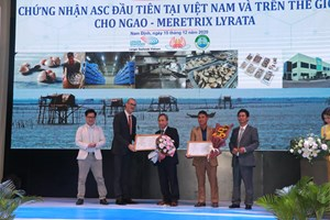 """Ngao Việt Nam được cấp """"VISA VIP"""" ra thế giới"""