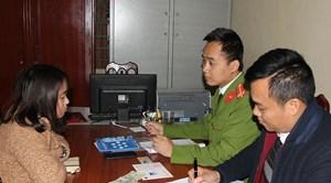 Hà Nam:Lên mạng nhận 'đơn hàng' làm giả bằng lái xe hạng C