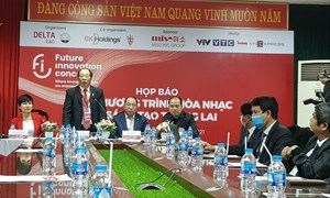 FIC: Chương trình hòa nhạc sáng tạo đầu tiên được tổ chức tại Việt Nam