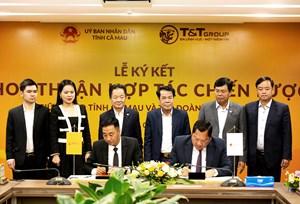 Tập đoàn T&T GROUP hợp tác chiến lược với 2 tỉnh Lào Cai và Cà Mau
