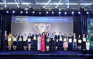 Vinamilk 3 lần liên tiếp được bình chọn là nơi làm việc tốt nhất Việt Nam