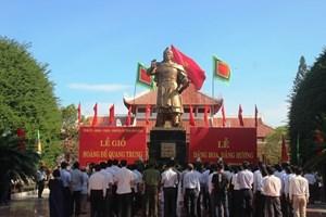 Bình Định: Tổ chức Lễ giỗ Hoàng đế Quang Trung trang nghiêm và đảm bảo phòng, chống dịch