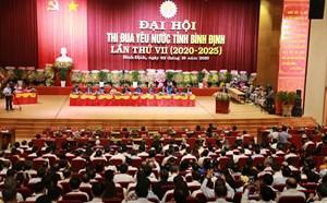 Khai mạc Đại hội thi đua yêu nước tỉnh Bình Định lần thứ VII