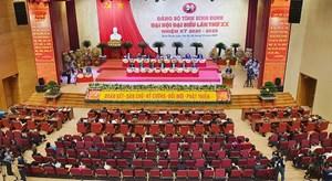 Khai mạc Đại hội đại biểu Đảng bộ tỉnh Bình Định lần thứ XX