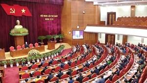 [ẢNH] Hội nghị lần thứ nhất Ban Chấp hành Trung ương khóa XIII