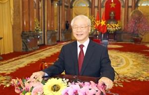 Lời chúc Tết của Tổng Bí thư, Chủ tịch nước Nguyễn Phú Trọng