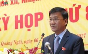 Kỷ luật cảnh cáo nguyên Chủ tịch Quảng Ngãi Trần Ngọc Căng